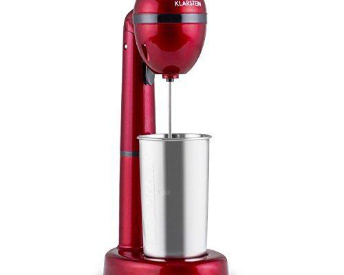 klarstein van damme drink mixer getr nkemixer mini standmixer milkshake maker 100. Black Bedroom Furniture Sets. Home Design Ideas