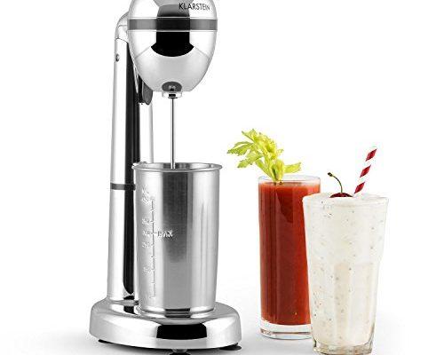 klarstein van damme drink mixer getr nkemixer mini standmixer milkshake maker 100w. Black Bedroom Furniture Sets. Home Design Ideas